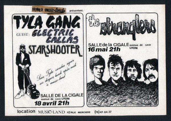 FLYER TYLA GANG - THE STRANGLERS
