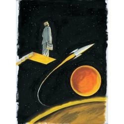Planche L'Homme de Mars : Comme Georges Bailey Tirage signé