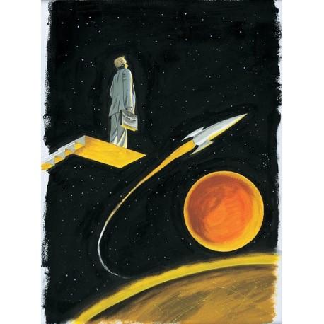 Planche L'Homme de Mars : Comme Georges Bailey Original