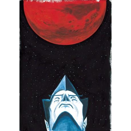 Planche L'Homme de Mars : Planète Mars Original