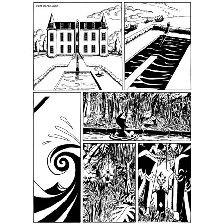 Planche 3/2 (Welcome to my paradise) NB Tirage signé
