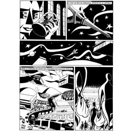 Planche 2/2 (Welcome to my paradise) NB Original
