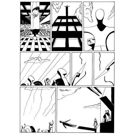 Planche 4/5 (Paroles d'homme) NB Original